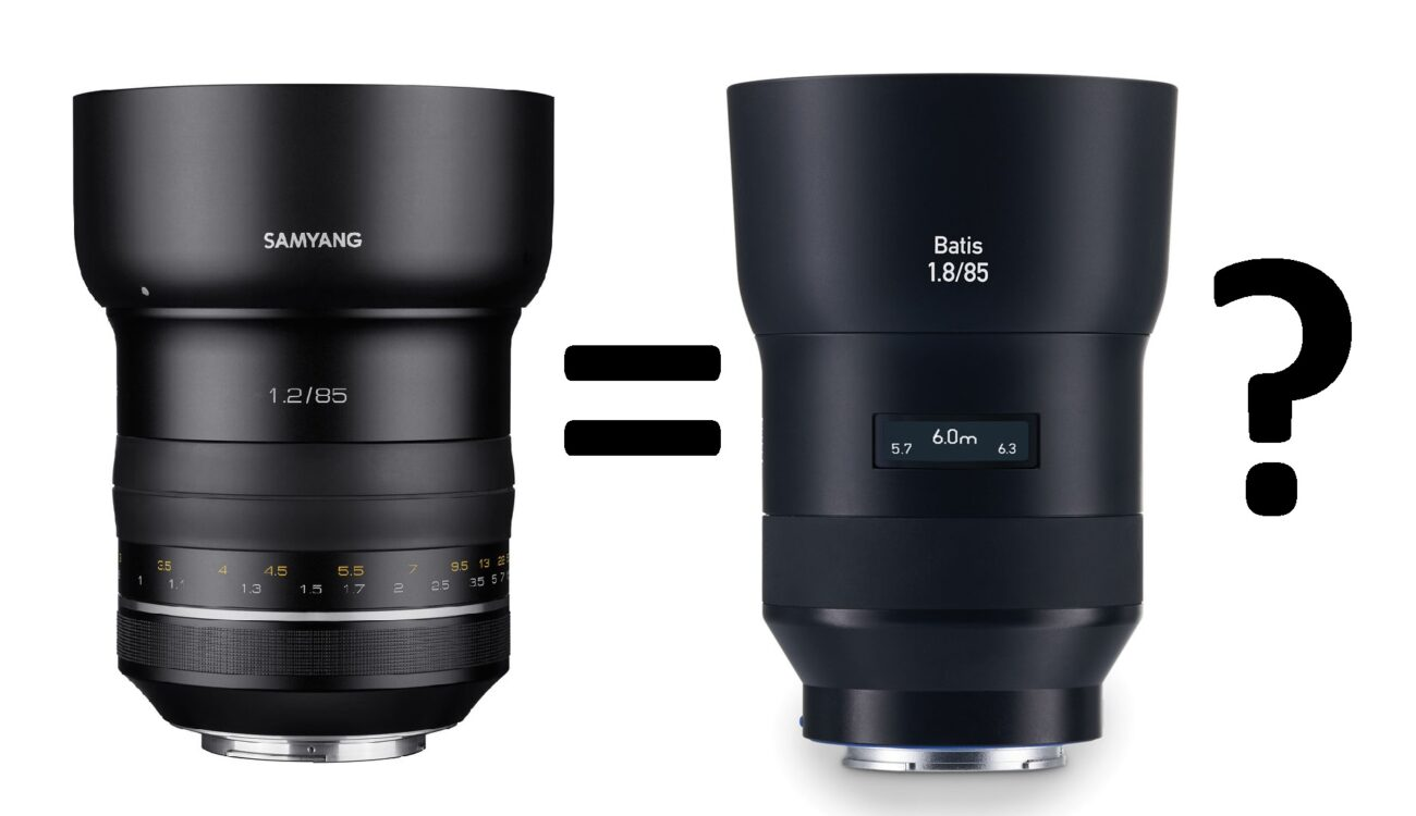 Copy or Inspiration? - ZEISS Accuses Samyang for Copying Their Lens Design