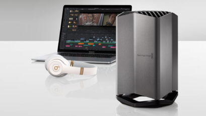 Blackmagic eGPU – Graphics Superpower for MacBooks via Thunderbolt 3