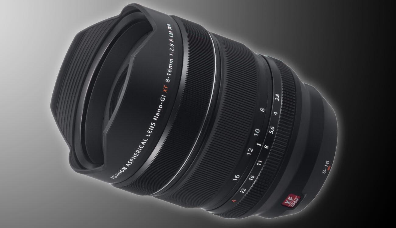 FUJINON XF 8-16mm F2.8 – New Ultra-Wide Zoom From FUJIFILM