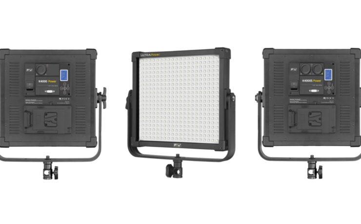 F&V K4000 Power - High Power LED Panel - Litepanels Astra Cheaper Alternative?