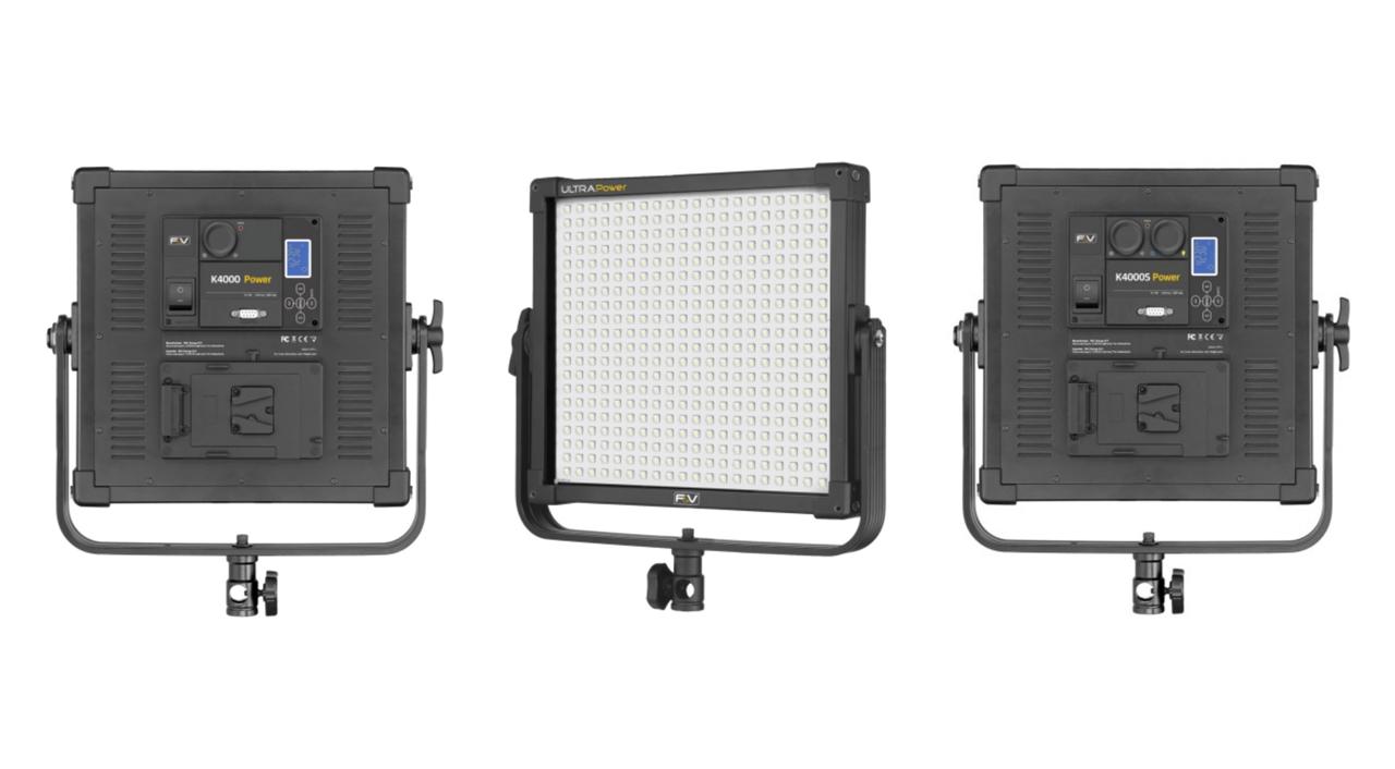 F&VのK4000 Power - 高出力LEDパネル