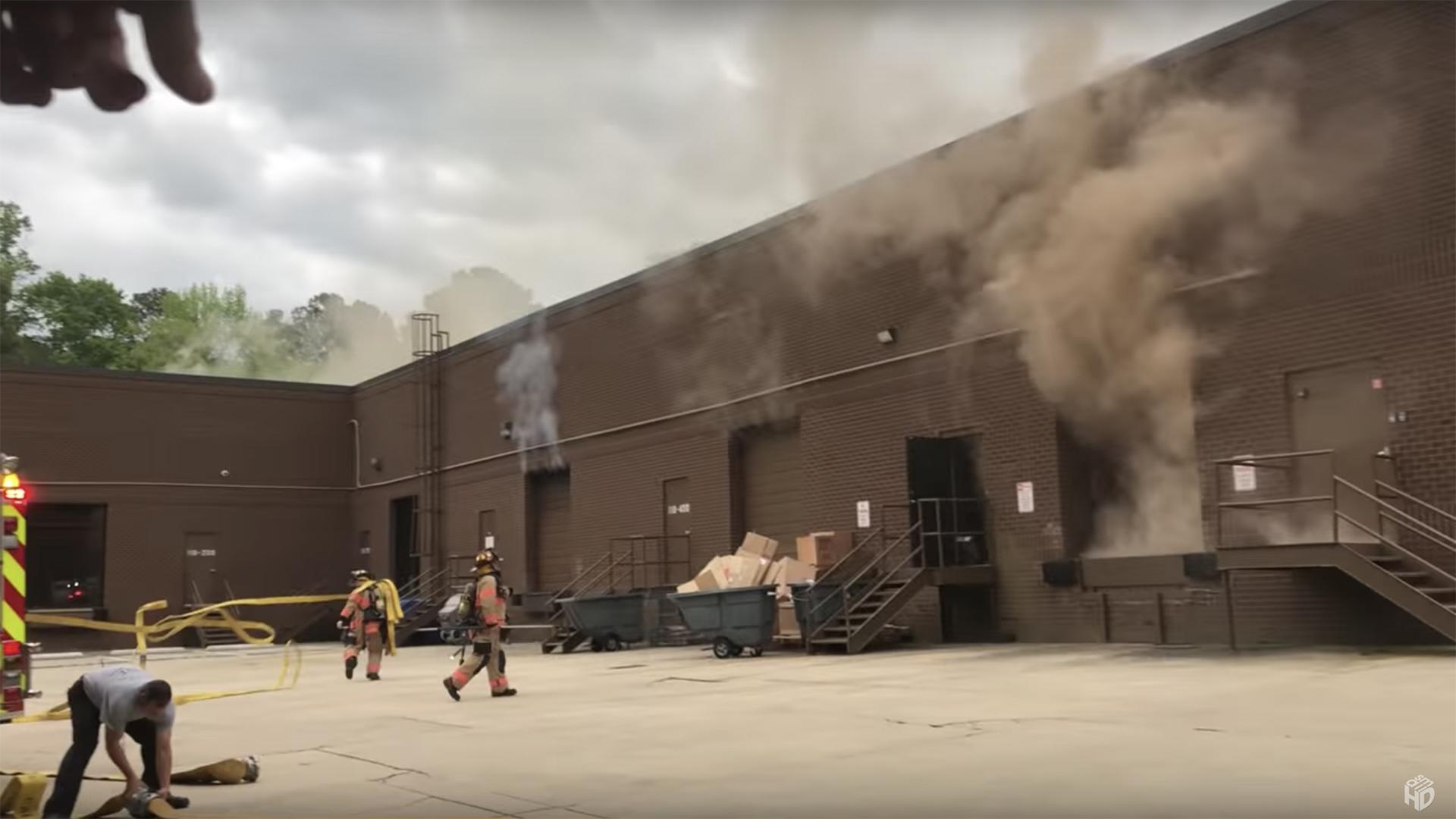 SmallHD sufre millones en pérdidas de inventario a causa de incendio