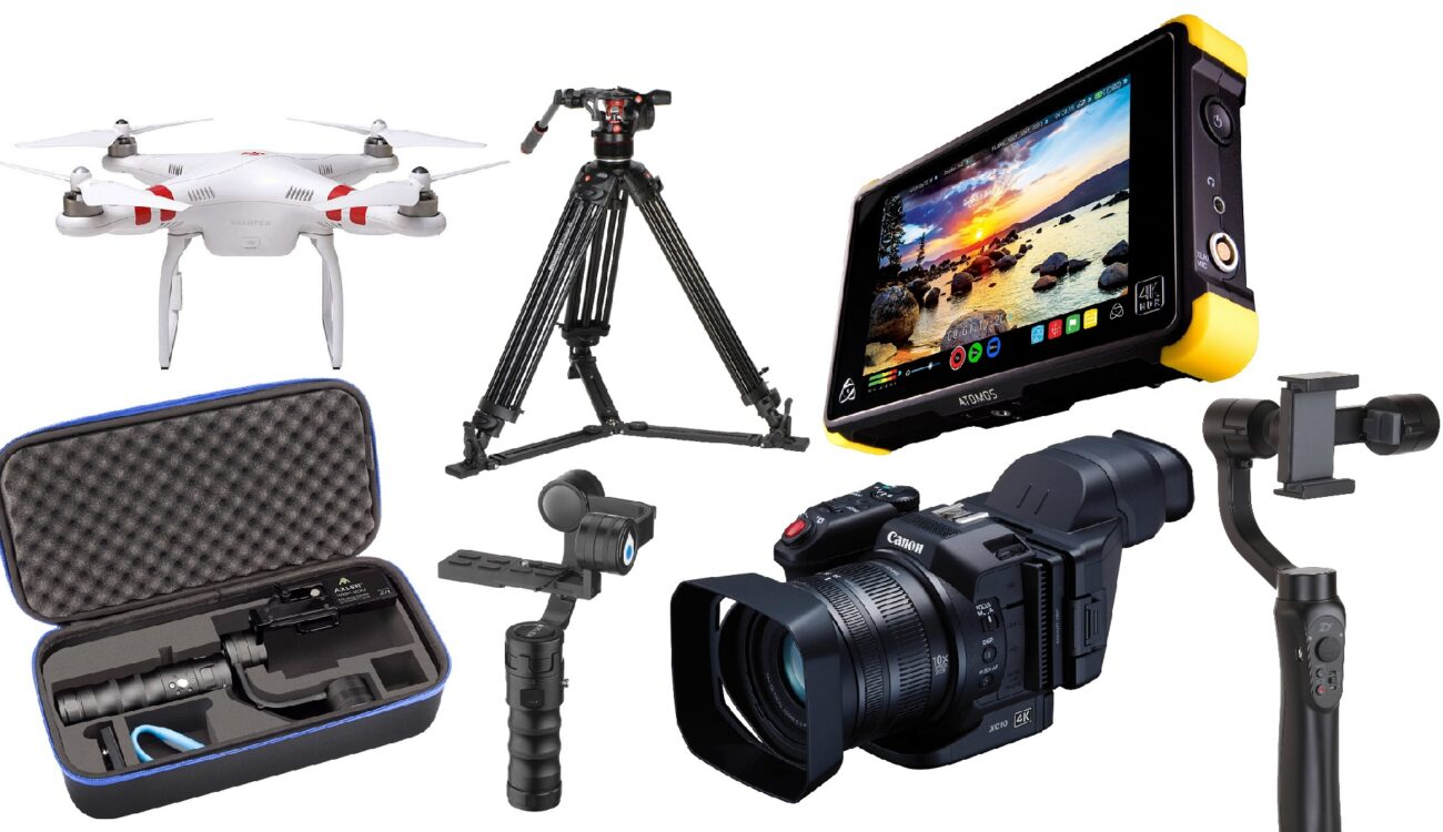 This Week's Top 10 Deals for Filmmakers - Atomos, DJI Drone, Gimbals and More