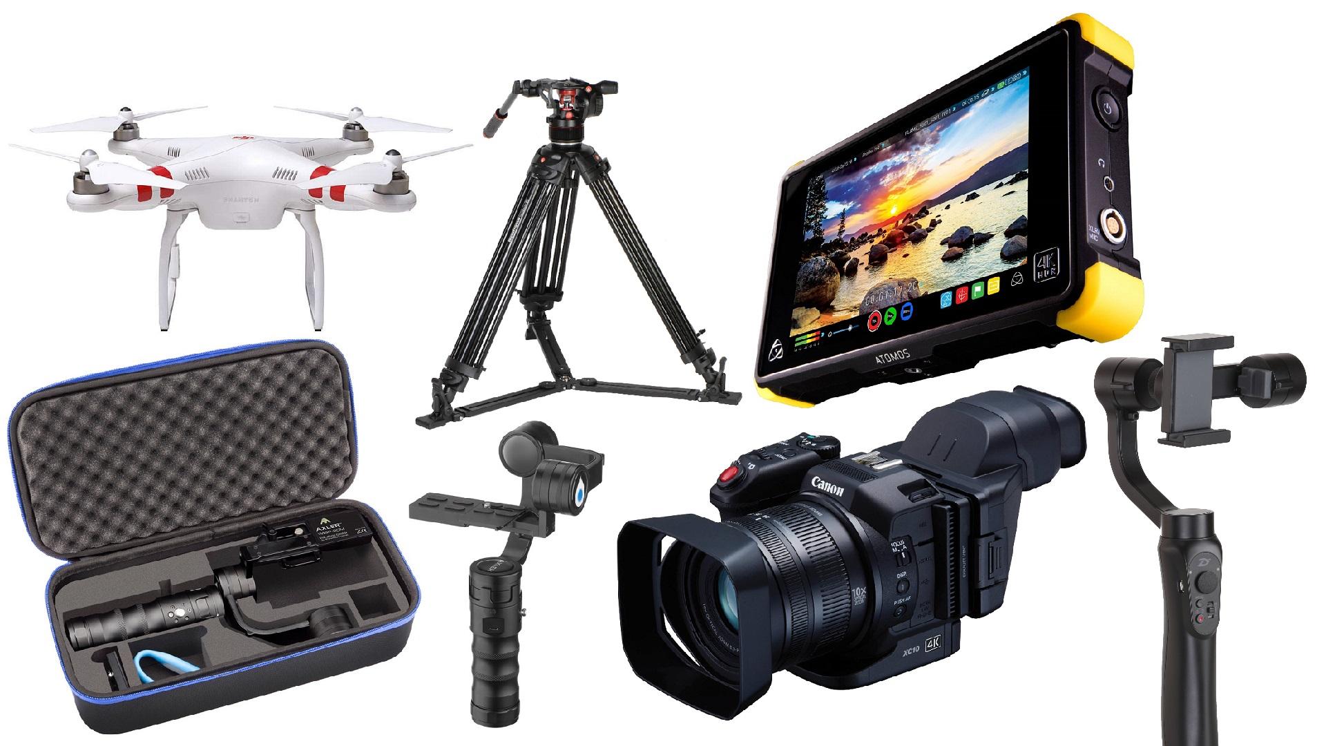 Las 10 mejores ofertas para cineastas de esta semana - Atomos, Drones DJI, Gimbals y más