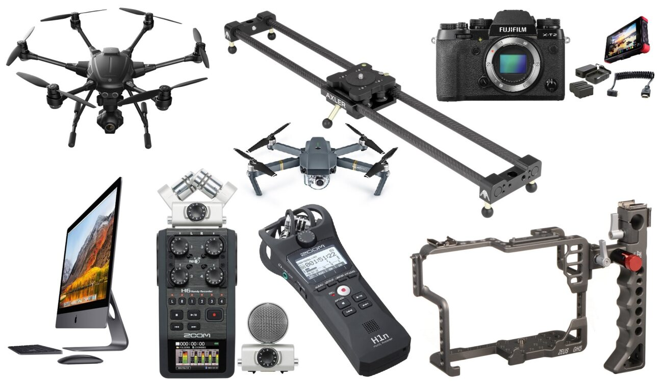 This Week's Top 10 Deals for Filmmakers – Drones, Zoom Recorders, Fujifilm & Canon Cameras, iMac Pro and more