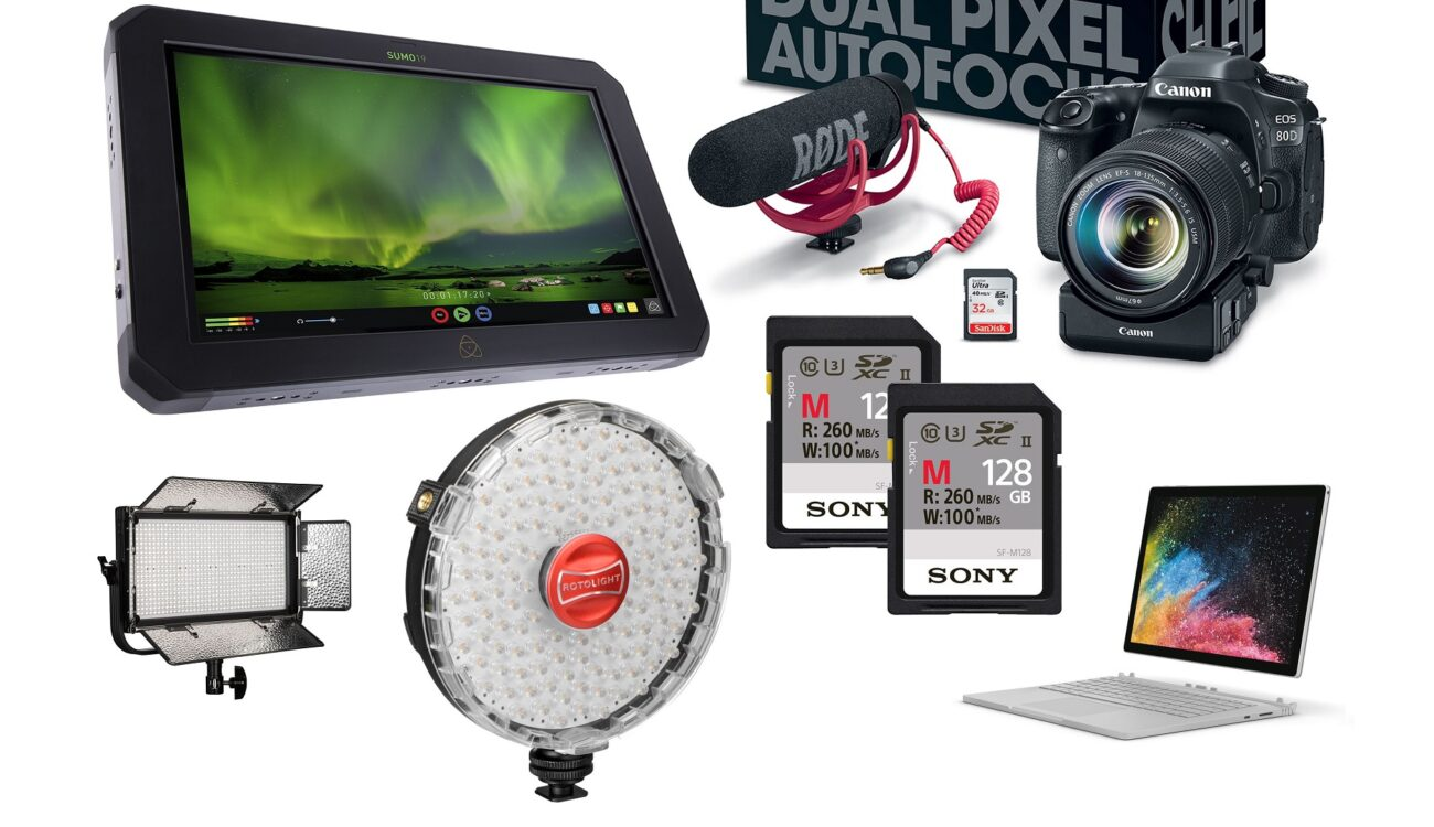 This Week's Top 10 Deals for Filmmakers – Atomos, Canon, HP, Microsoft, Rotolight and more