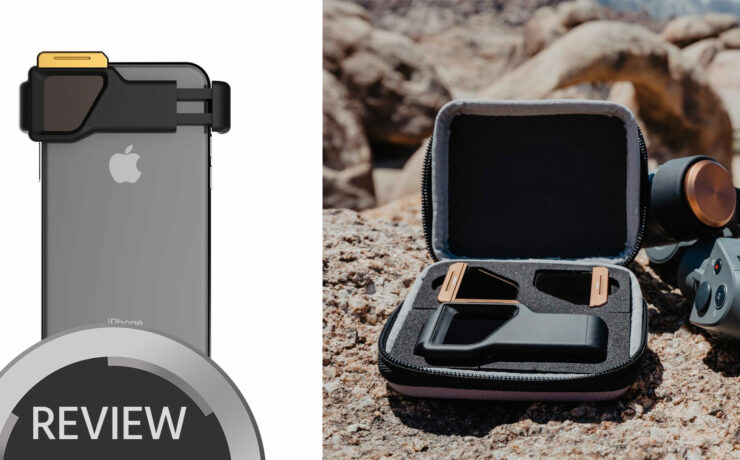 Pro ND Filters for Your Phone - New PolarPro Iris Mobile Filter System - Review