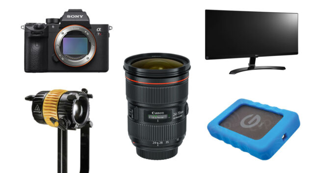 This Week's Top 10 Deals for Filmmakers – Camera, Lenses, Hard Drives and More