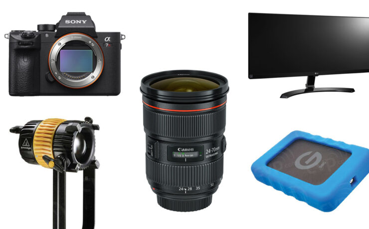 This Week's Top 10 Deals for Filmmakers - Camera, Lenses, Hard Drives and More