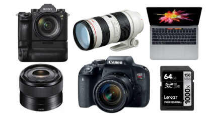This Week's Top 10 Deals for Filmmakers – Sony, Canon, Apple, Lexar and More