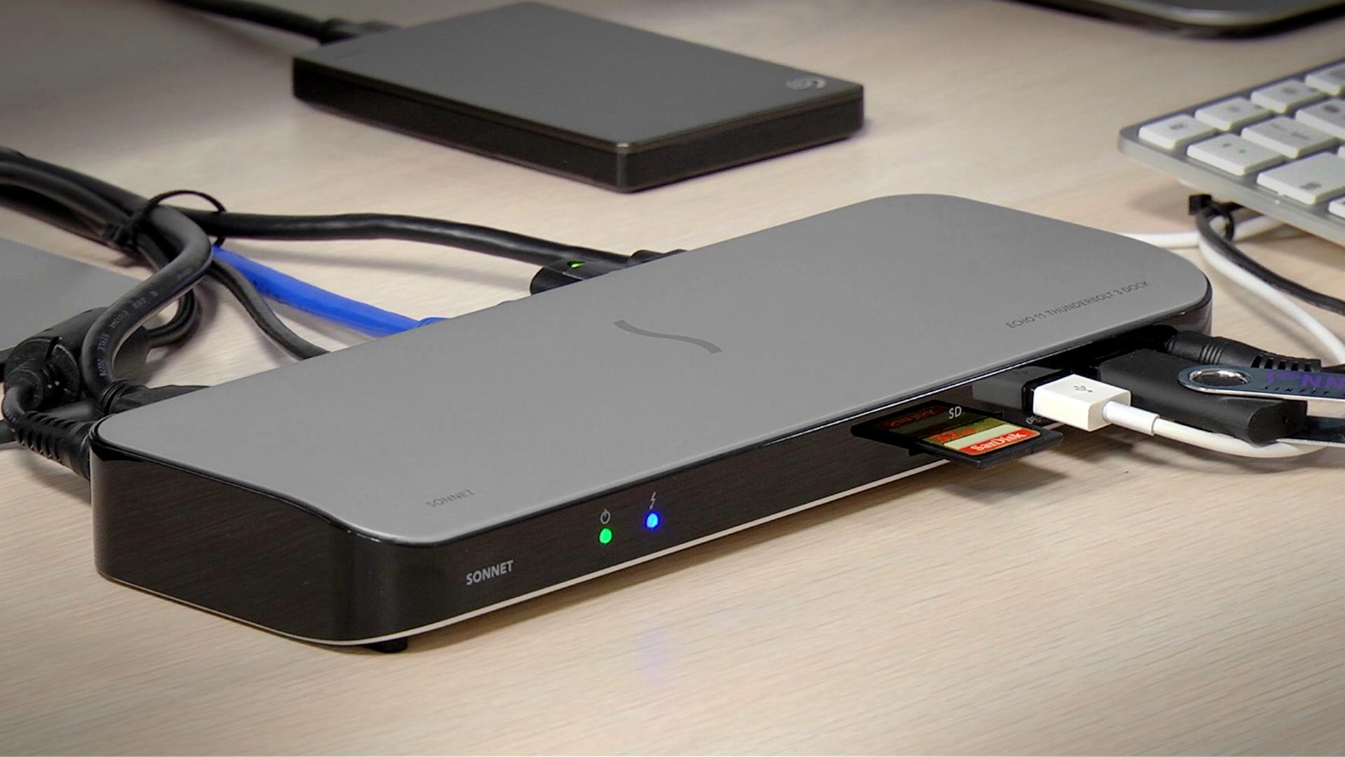 SonnetのEcho 11 ― Thunderbolt 3 Dockでラップトップの接続性を改善