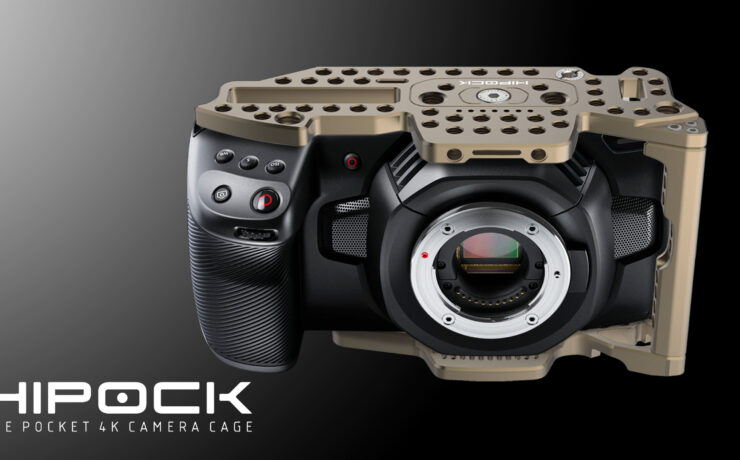 LockCircle HiPock – A new Cage System for the Blackmagic Pocket Cinema Camera 4K