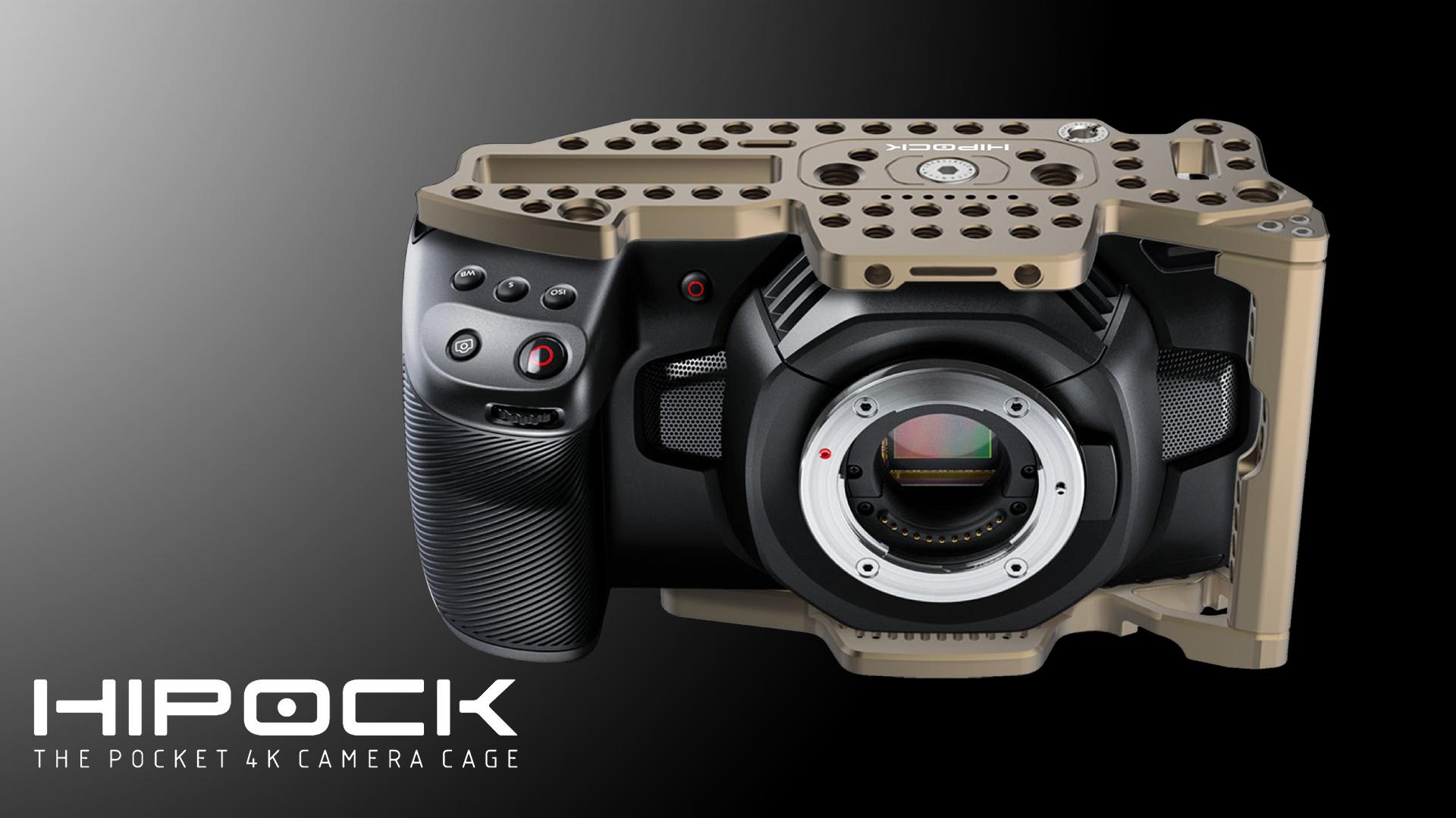 ロックサークル(LockCircle)のHiPock - Blackmagic Pocket Cinema Camera 4K用ケージ