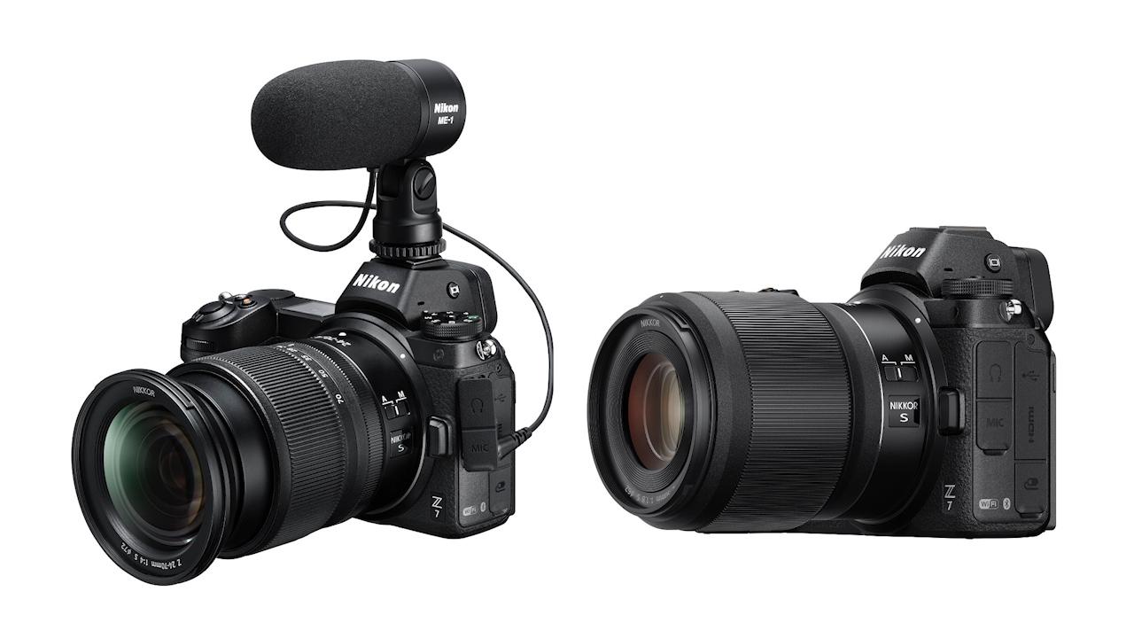 ニコンがZ7とZ6をリリース - フルフレームミラーレスカメラ