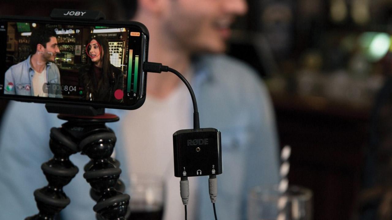 RØDE SC6-L - iPhoneでオーディオを収録できるアダプター
