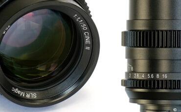 SLR Magic 50mm f/1.1 Cine Version II - Same Price, Better Lens