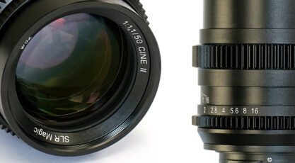 SLR Magic 50mm f/1.1 Cine Version II - Same Price, Better Lens