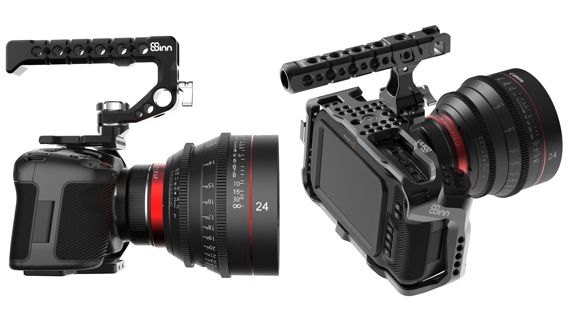 8sinnがブラックマジックデザインのpocket cinema camera 4k用のケージを