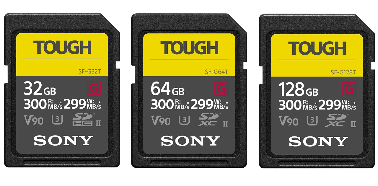 Hypermoderne Sony TOUGH Series - World's Toughest and Fastest SD Cards | cinema5D HB-18