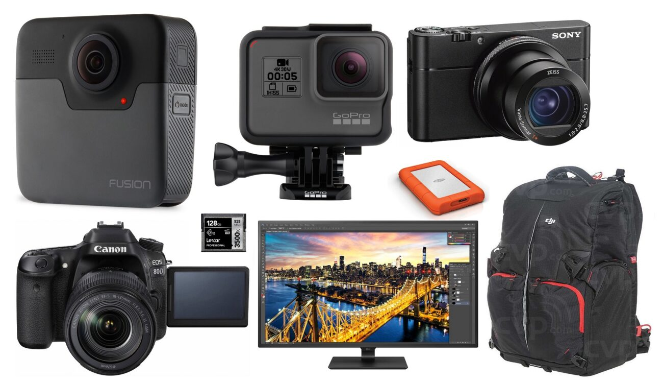 This Week's Top 10 Deals for Filmmakers – GoPro, Sony RX100 VA, Canon 80D, LG 4K Monitor and more