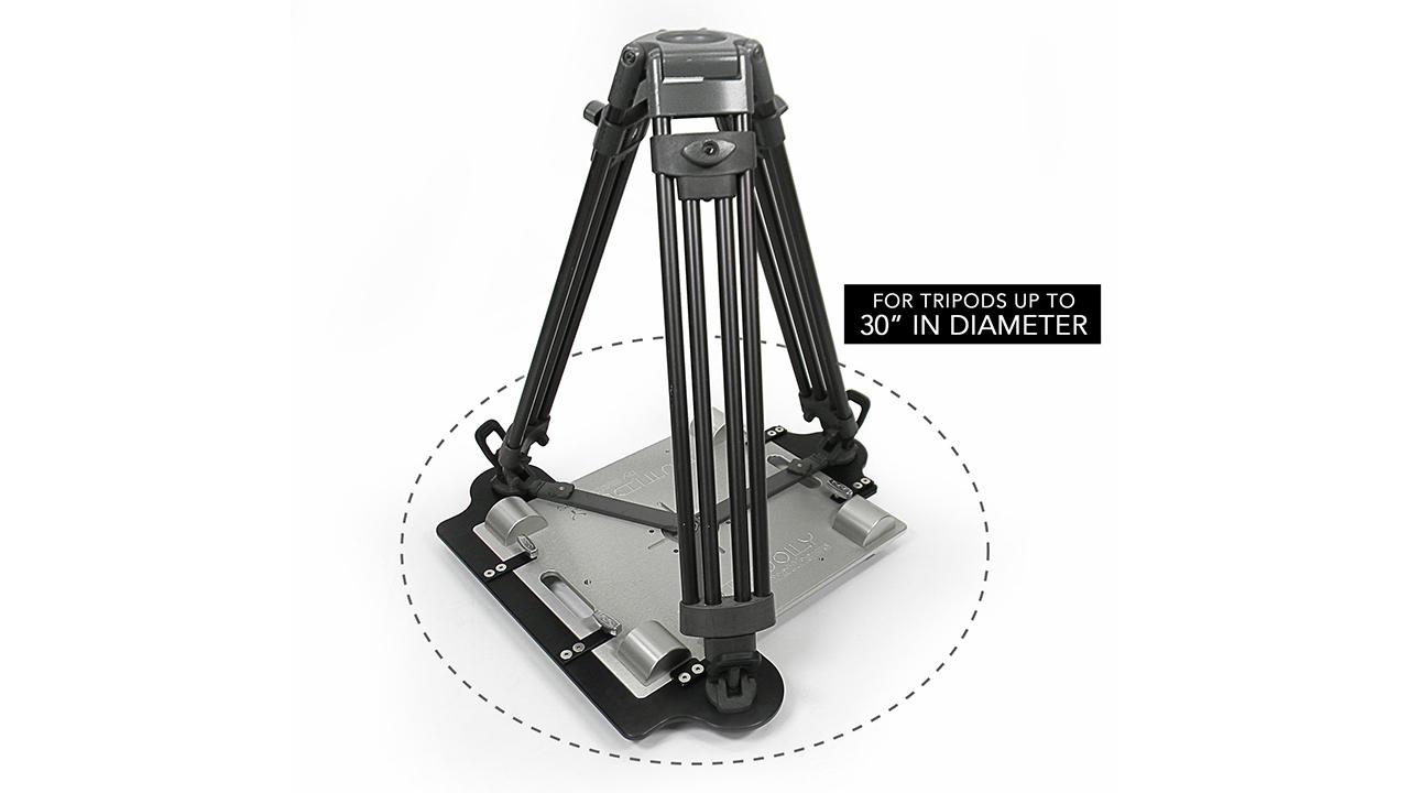 matthews studio equipmentのdutti dolly用三脚アダプター cinema5d