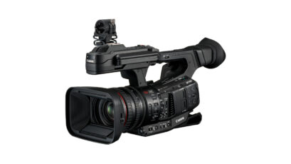 Canon XF705 New Flagship Camcorder - Shoots 4K up to 50p in 10bit 4:2:2 Internally