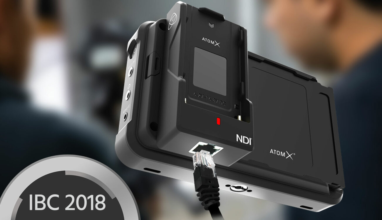 Atomos Ninja V Goes NDI and Wireless With The Latest AtomX Add-On Modules