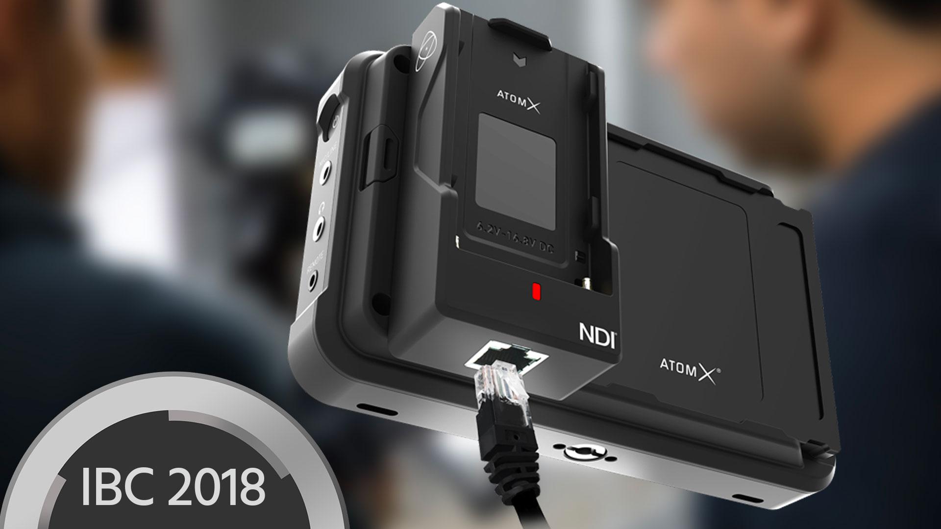 Atomos Ninja V ahora con tecnología NDI e inalámbrica con los últimos módulos complementarios AtomX