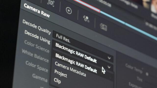 Blackmagic RAW Technology Introduced – 12 bit Compressed RAW