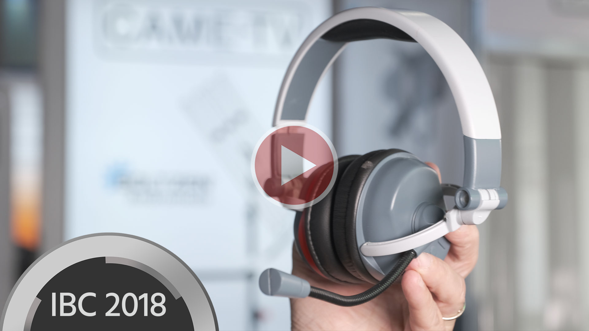 CAME-WEARO - Auriculares duplex para una comunicación perfecta de CAME-TV