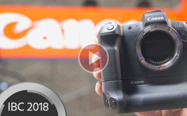 Canon EOS R & RF Lenses – Questions Answered at IBC 2018