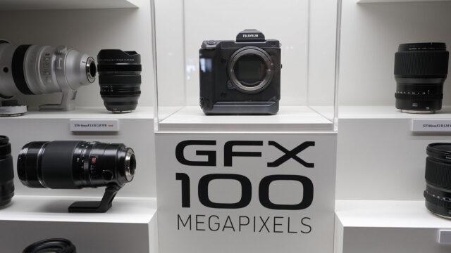 富士フイルムがgfx100の開発コンセプトを発表 4k 10bit対応の中判