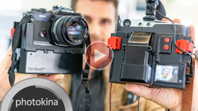 "Turn Your Analogue SLR Into a Digital Video Camera with ""I'm Back""!"