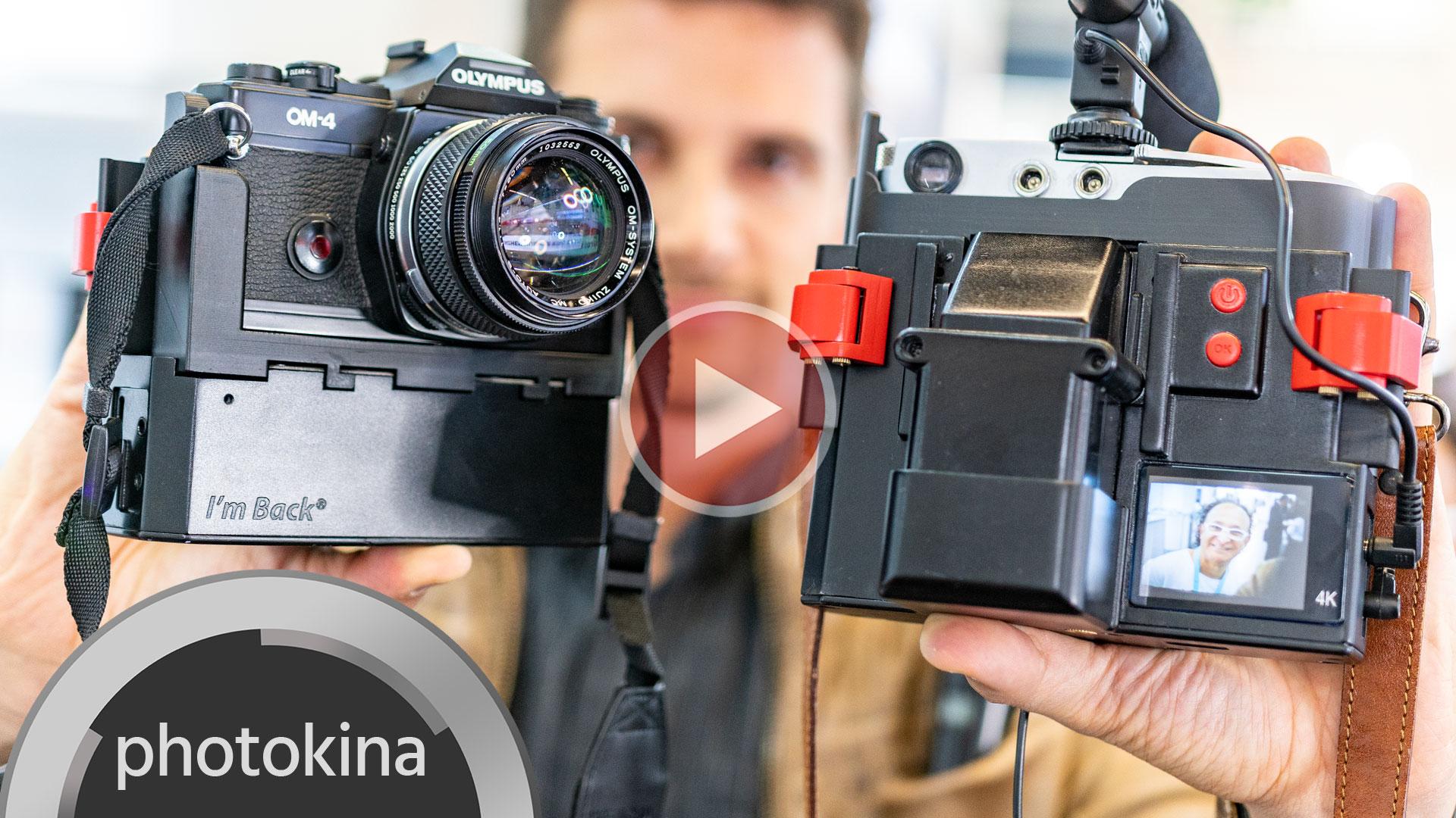 """¡Convierte tu reflex analógica en una cámara de video digital con """"I'm Back""""!"""