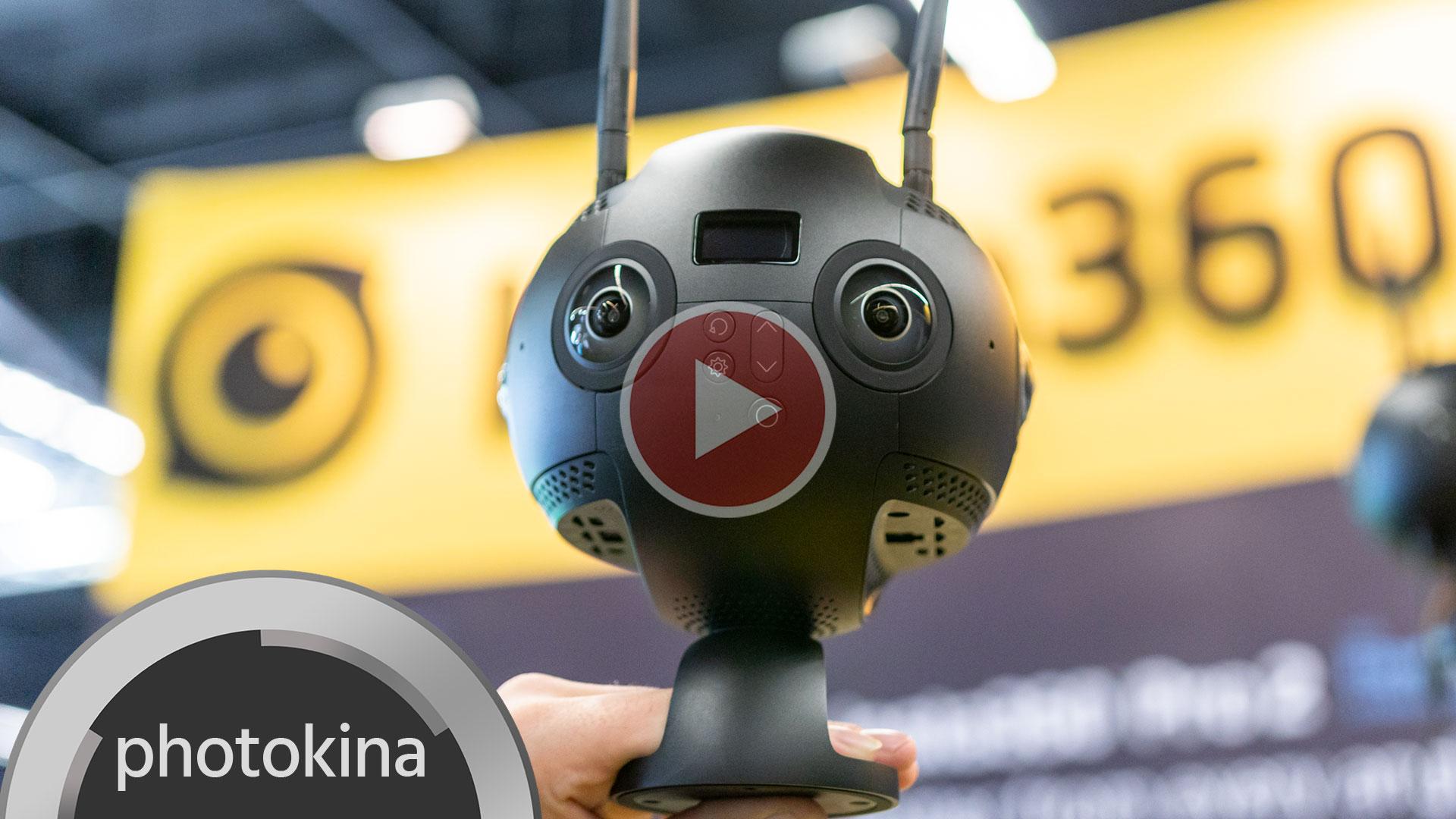 Insta360 Pro 2 – Grabación de VR 3D en 8K con conectividad inalámbrica mejorada