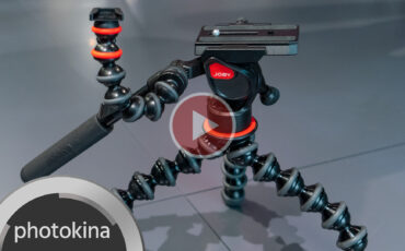 Joby Gorillapod Video Pro Gets A Fluid Head For Smooth Pan And Tilt Control