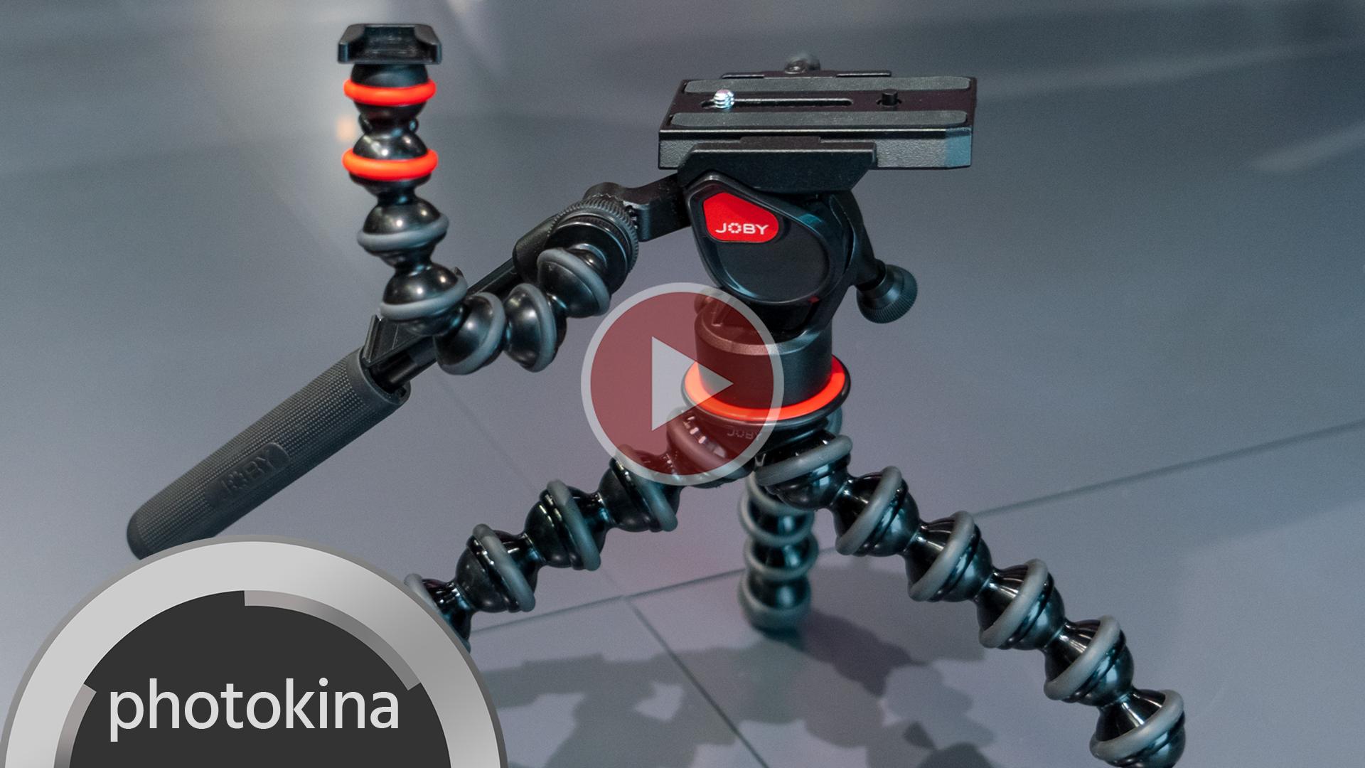El Joby Gorillapod Video Pro ahora con cabezal fluido para un control suave del paneo e inclinación