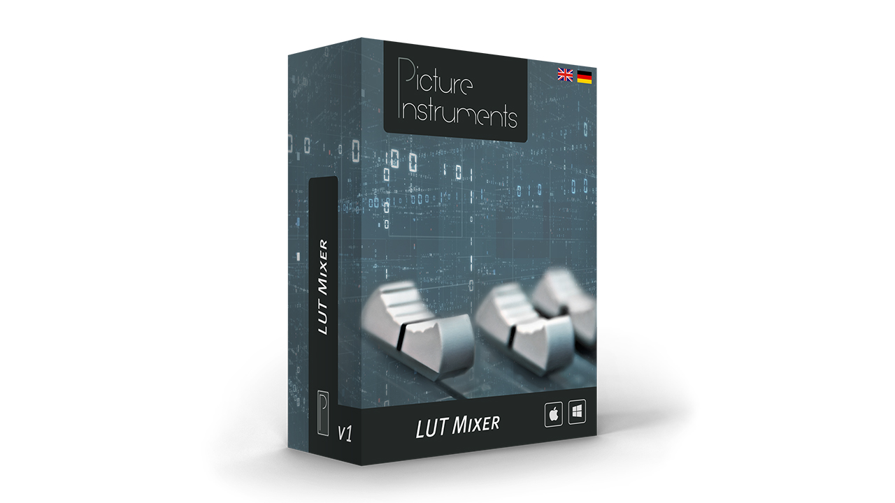 Picture Instruments LUT Mixer – New LUT Tool for Your NLE