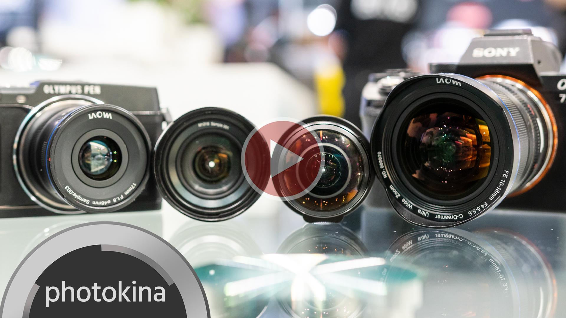 Laowa presenta 4 nuevos lentes de gran angular para Montura E y Micro 4/3
