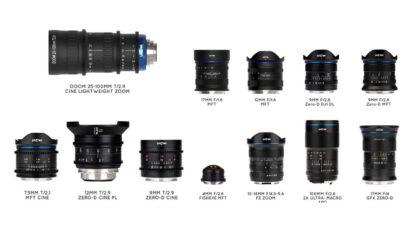 Laowa Announces Eight New Lenses Including a Cine Zoom Lens