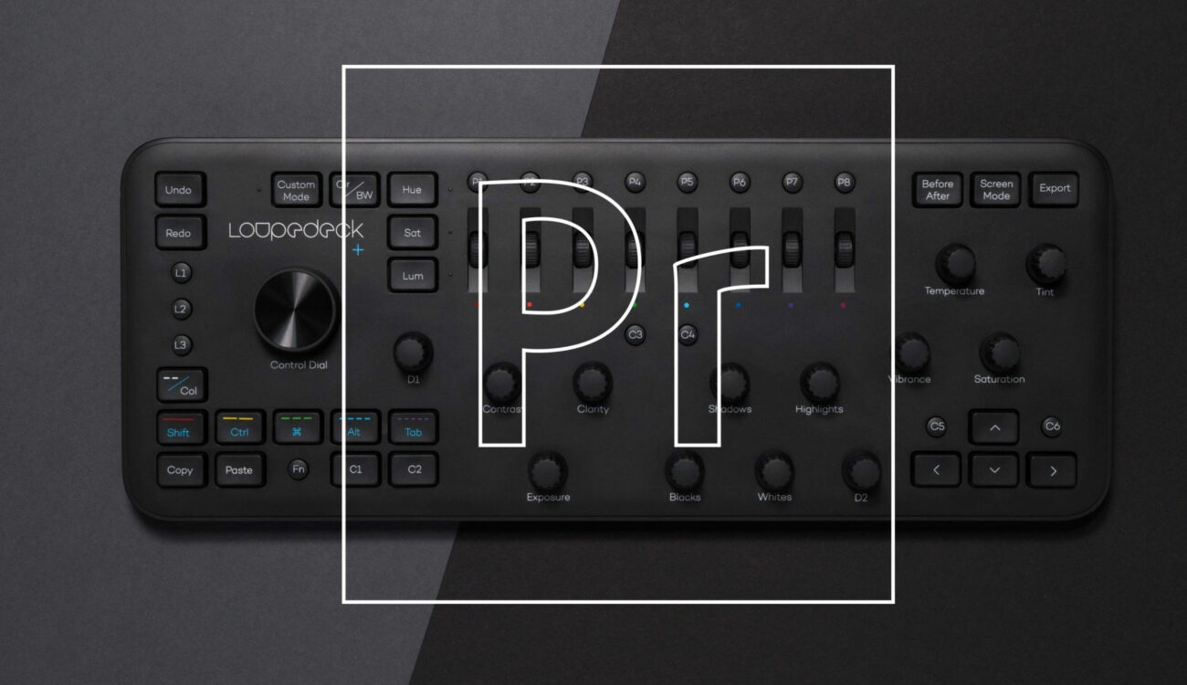 Loupedeck+ Control Interface Now Supports Adobe Premiere Pro CC Editing