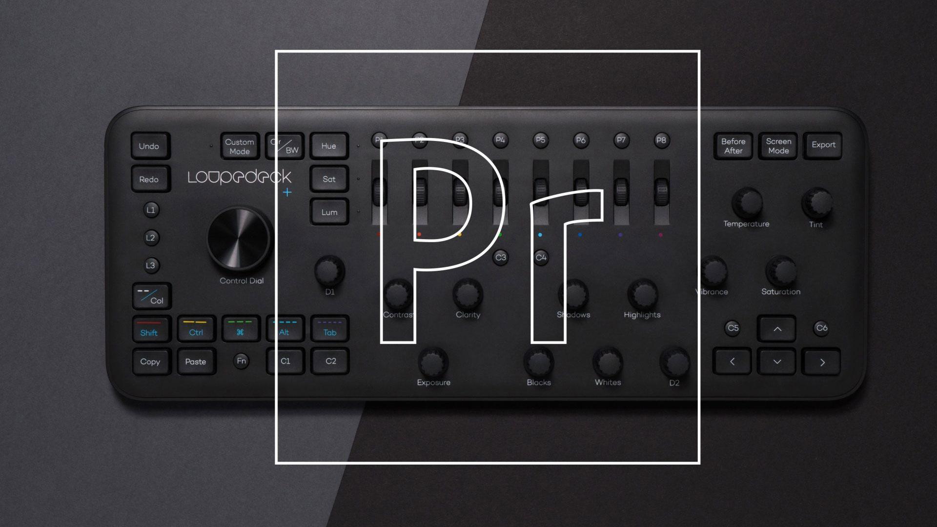 LoupedeckがLoupedeck+ Adobe Premiere Pro CC用コントロールインターフェースをリリース