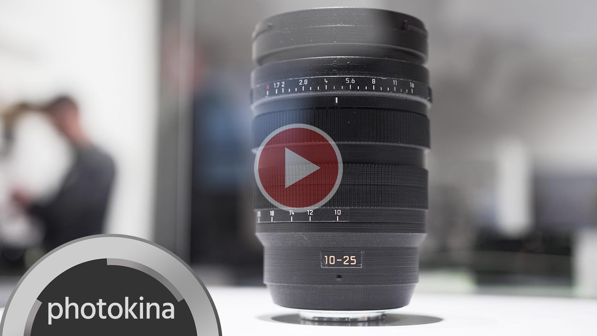 Actualización de firmware de Panasonic para GH5, GH5S y lente Panasonic-Leica 10-25mm F1.7 MFT
