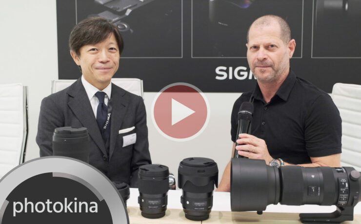 SIGMA CEO on Their Full Frame Camera, L-Mount Alliance and New Lenses - Video Interview