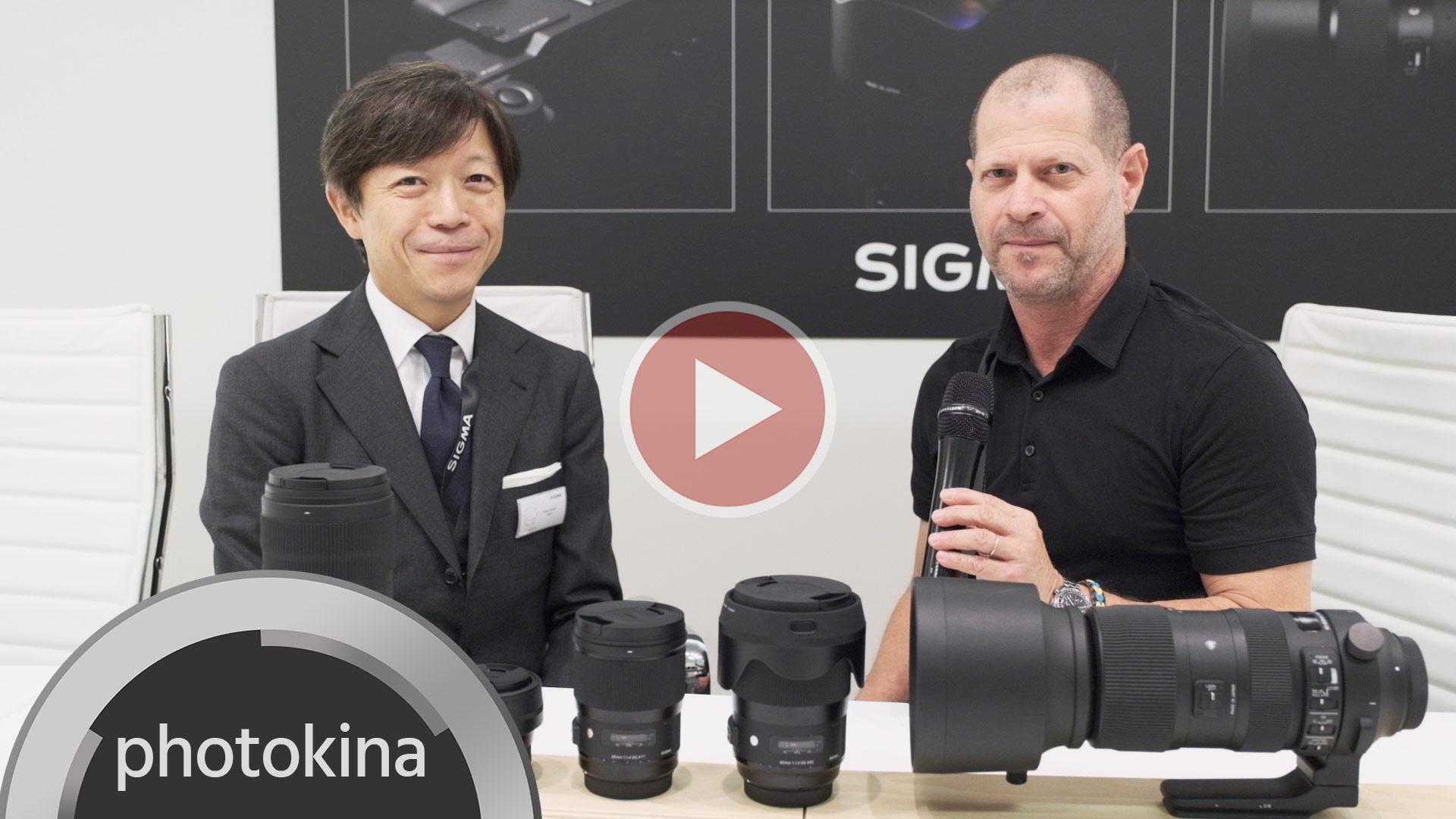 """El CEO de SIGMA habla sobre su cámara Full Frame, la alianza """"L-Mount Alliance"""" y sobre sus nuevos lentes - Entrevista en video"""