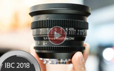 SLR Magic MicroPrime CINE 18mm T/2.8 - Full Frame Ultra-Wide For E Mount
