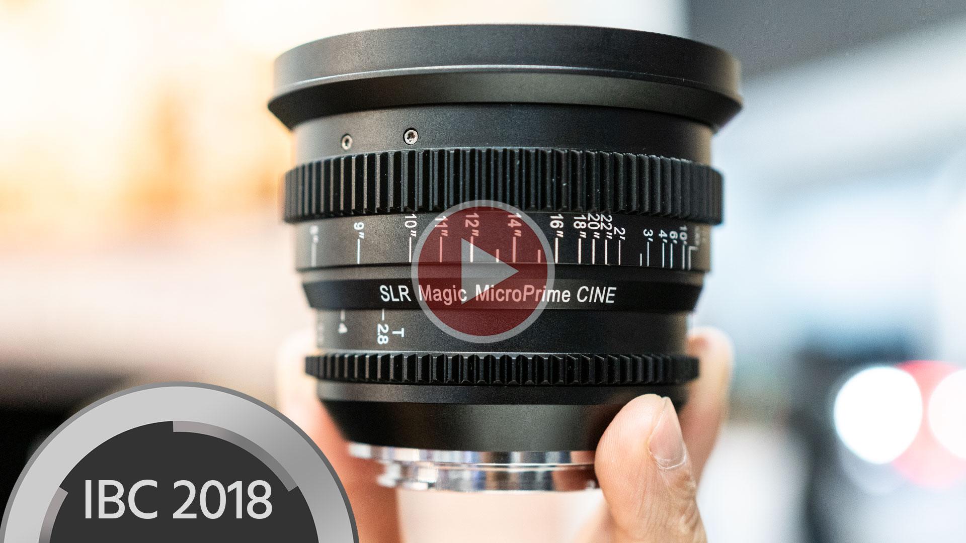 SLR Magic MicroPrime CINE 18mm T/2.8 – Lente Full Frame Ultra-Angular Para Montura E