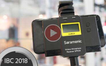 Saramonic SPRX9 Wireless Microphone Receiver/Mixer - Professional Wireless audio on Smartphones