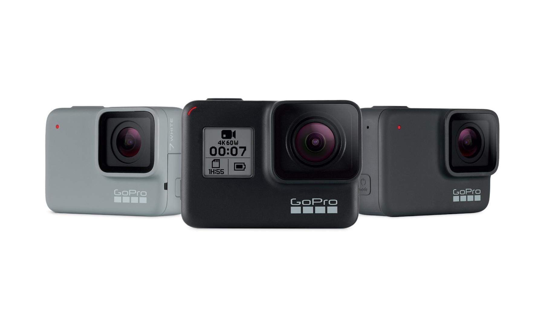 GoProがHERO7を発表 - 強力な手ブレ補正、ライブストリーミング、強化されたオーディオをサポート