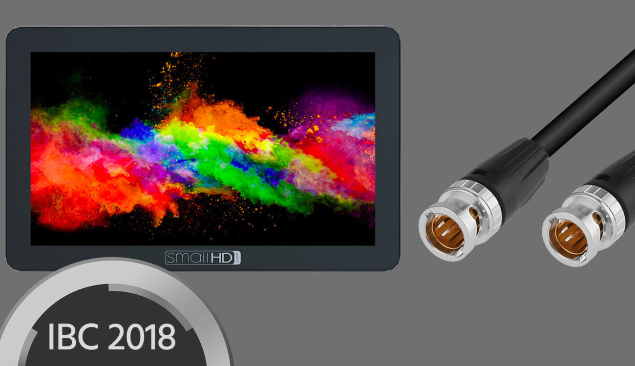 SmallHD FOCUS OLED Gets SDI Connectivity and Touch Screen